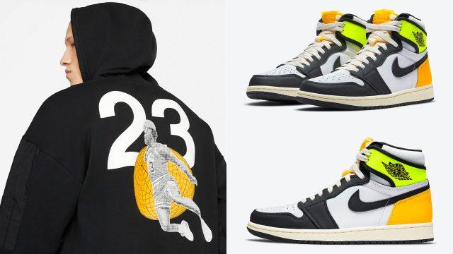 air-jordan-1-volt-gold-matching-hoodie