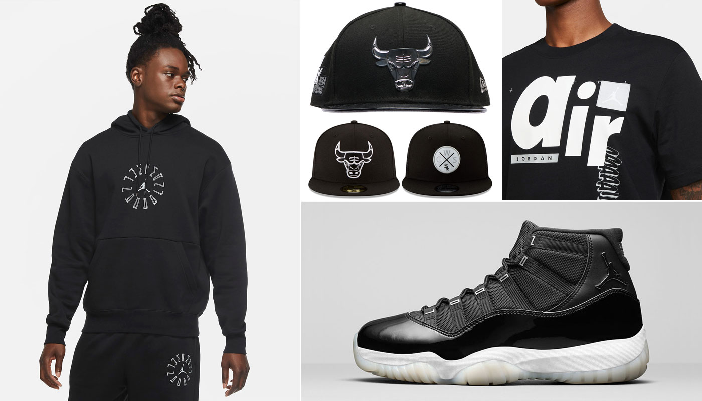 air-jordan-11-jubilee-25th-clothing-matching-outfits