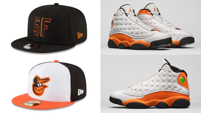 air-jordan-13-starfish-hats-to-match