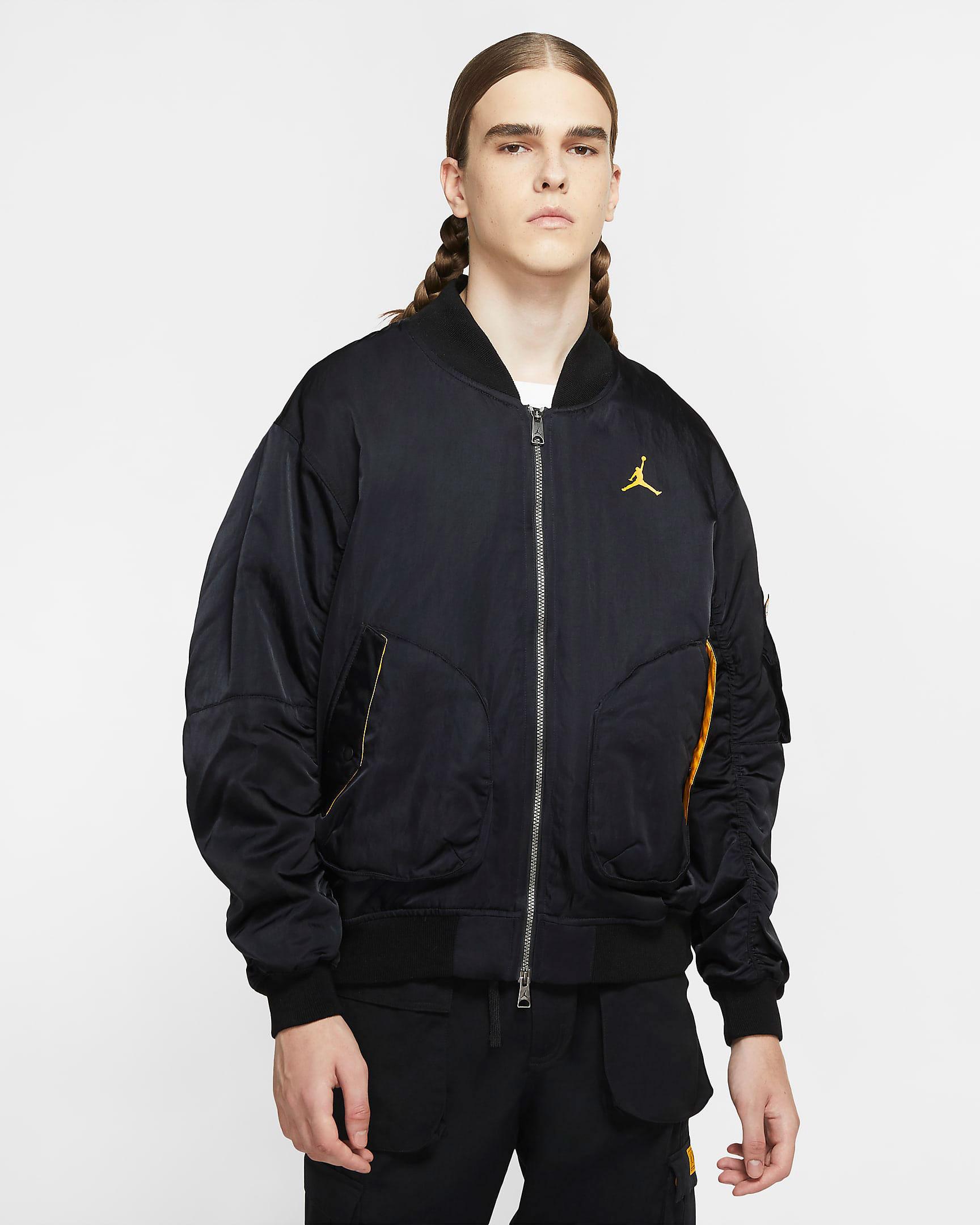 air-jordan-9-university-gold-black-bomber-jacket