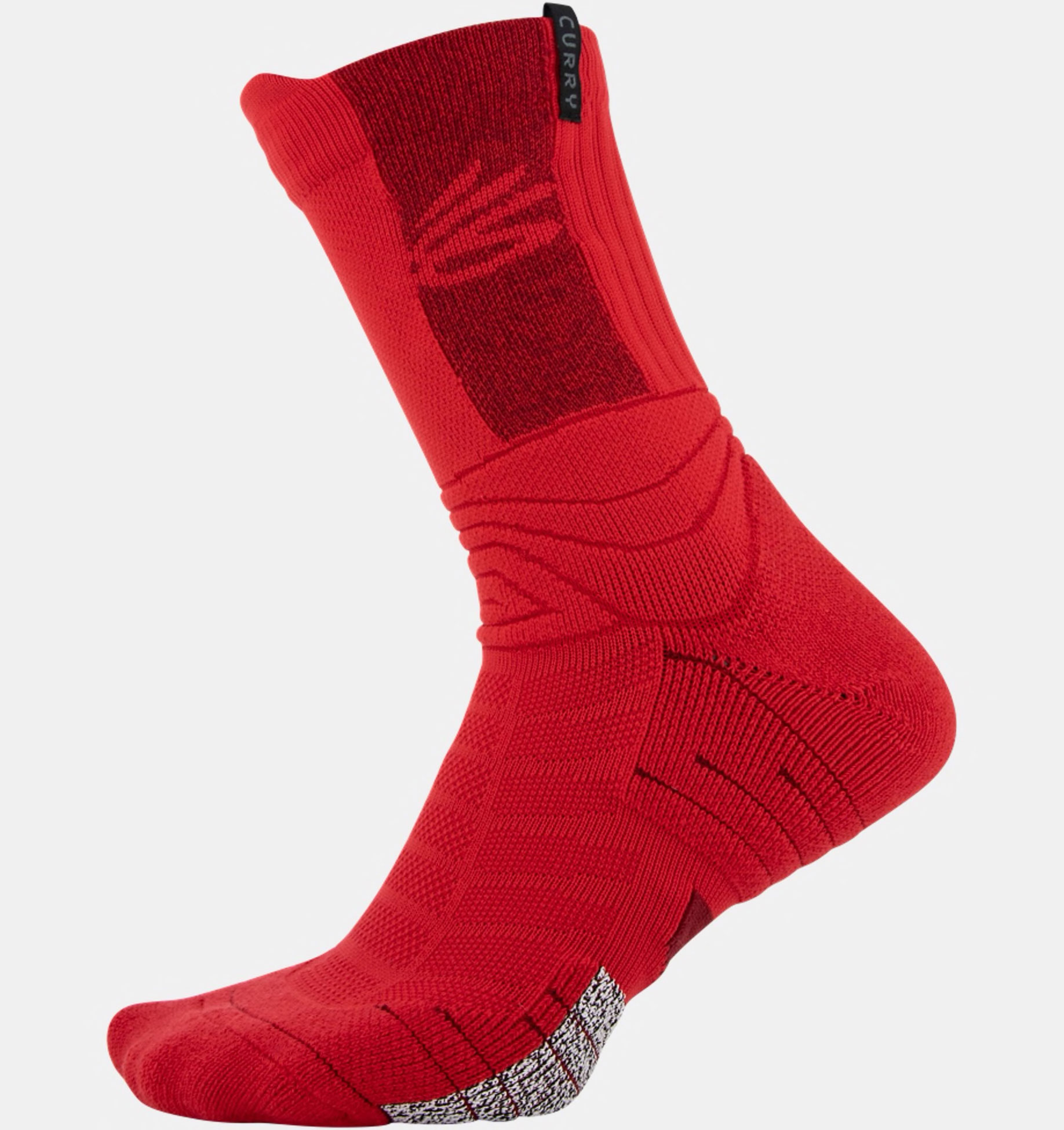 curry-8-red-socks