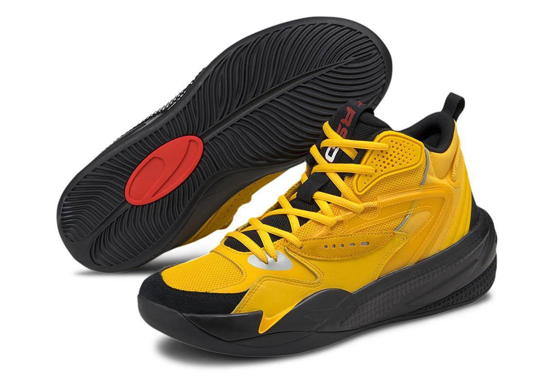 j-cole-puma-dreamer-2-mid-yellow-sneaker-clothing-match