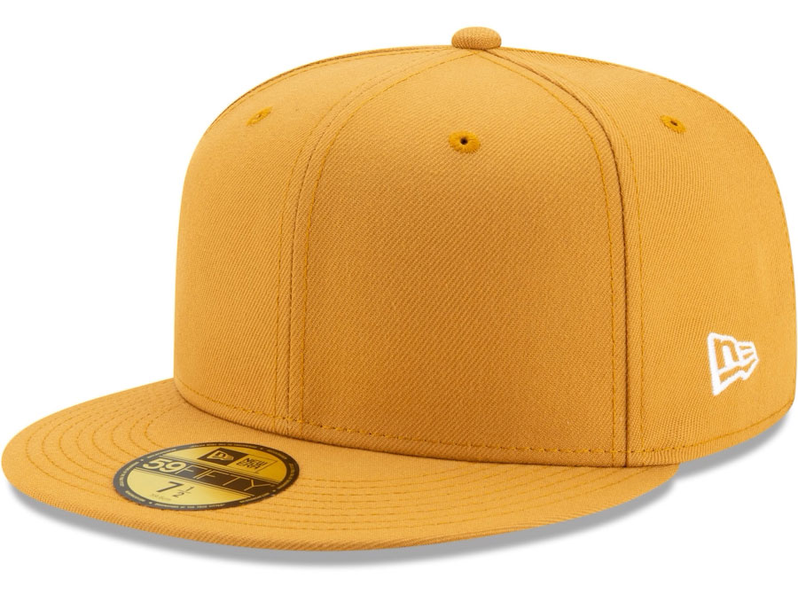 jordan-1-volt-gold-59fifty-fitted-hat