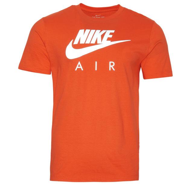 jordan-13-starfish-orange-nike-shirt