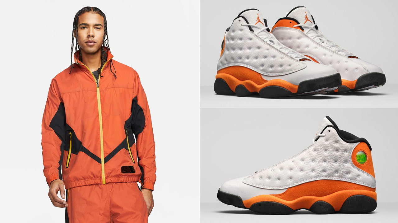 jordan-13-starfish-orange-track-jacket