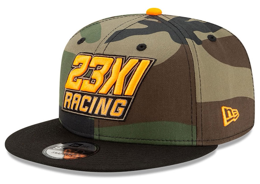 jordan-23XI-racing-hat-camo-gold-1