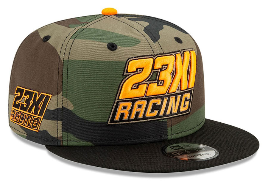 jordan-23XI-racing-hat-camo-gold-2