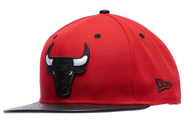 jordan-35-bred-chicago-bulls-snapback-hat-1