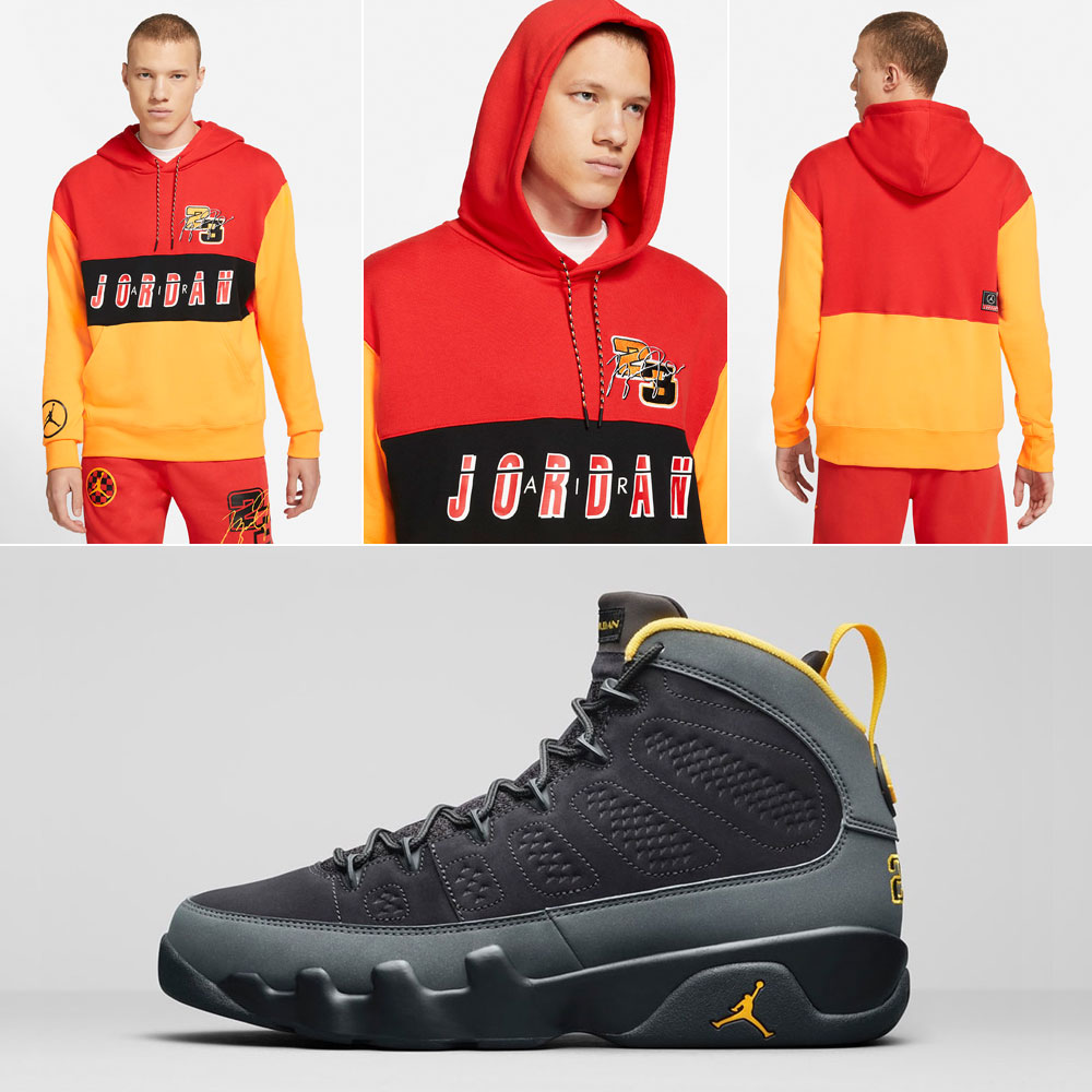 jordan-9-university-gold-hoody-match-outfit