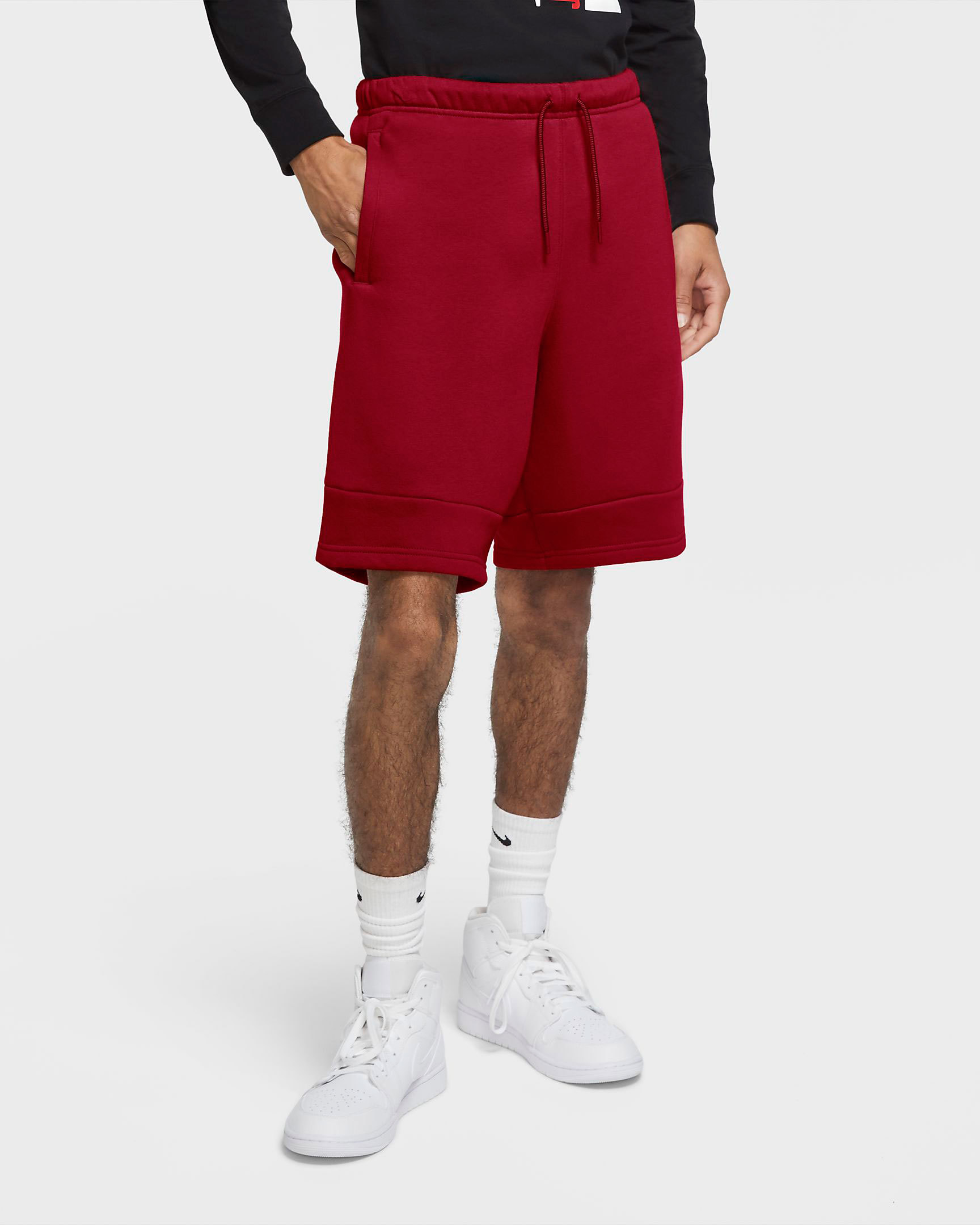 jordan-carmine-red-jumpman-fleece-shorts-1