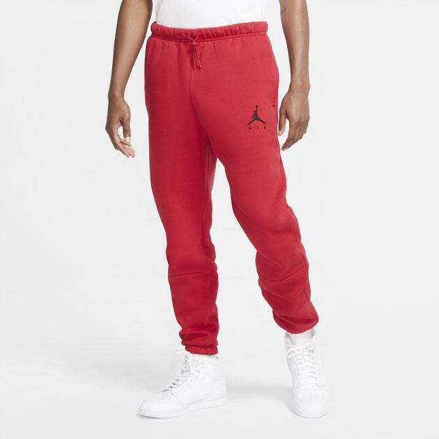 jordan-jumpman-air-fleece-pants-red-black