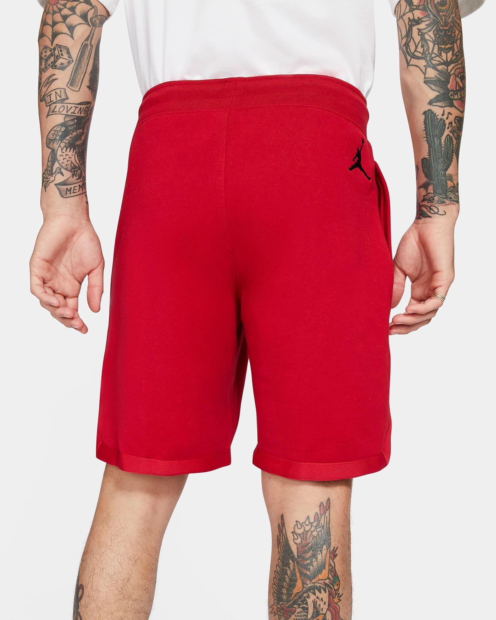 jordan-jumpman-classics-fleece-shorts-gym-red-black-3