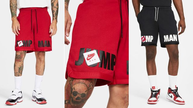 jordan-jumpman-classics-fleece-shorts-red-black