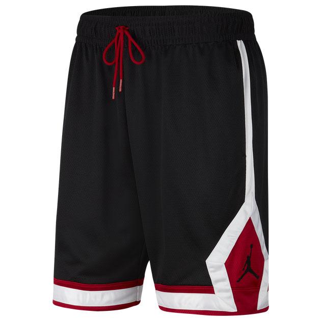 jordan-jumpman-diamond-shorts-black-carmine-red-white