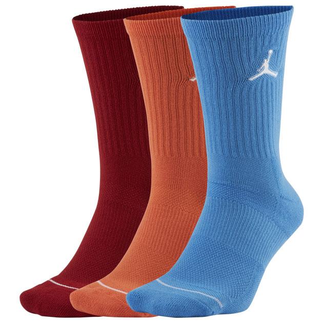 jordan-jumpman-socks-carmine-starfish-university-blue