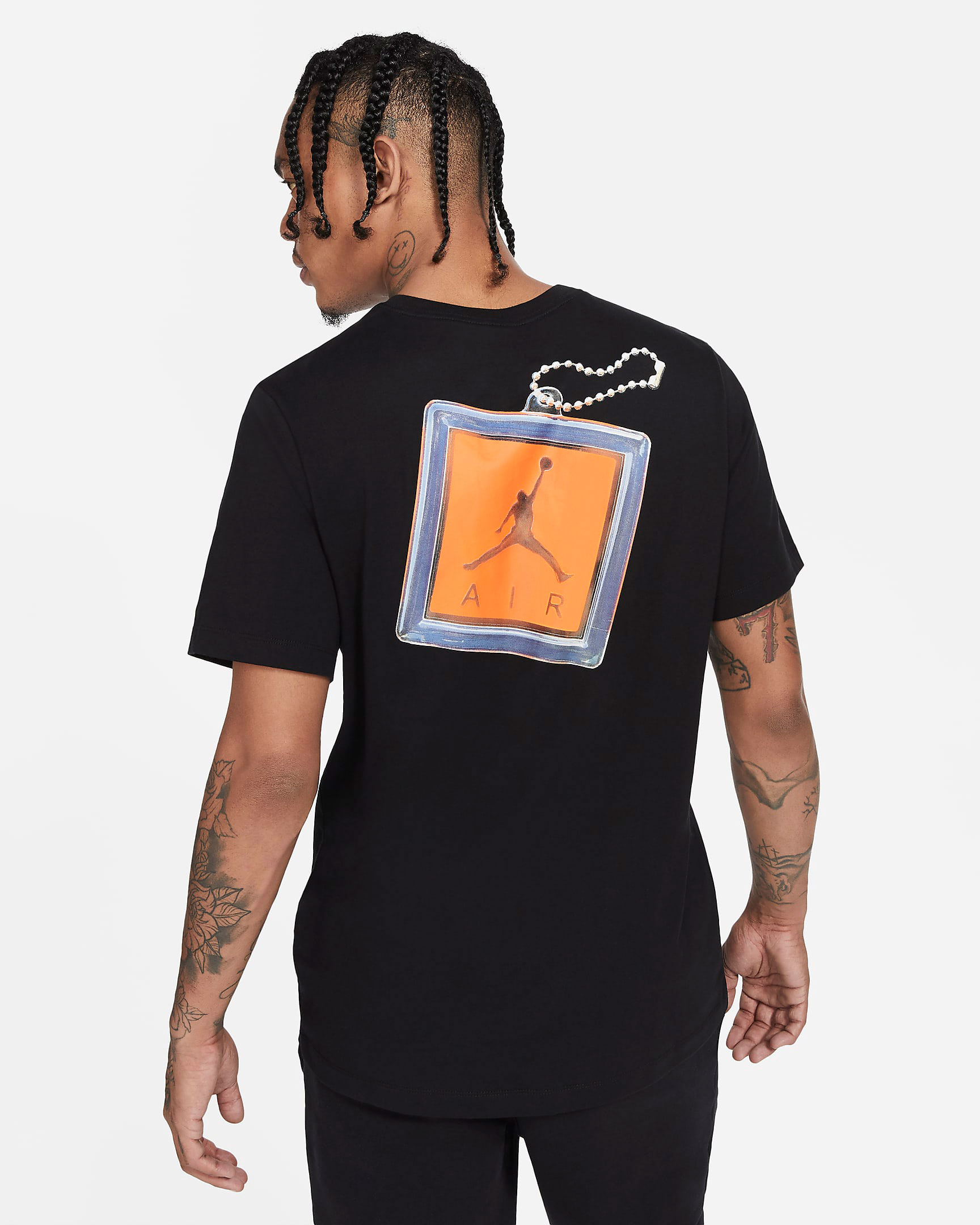 jordan-keychain-shirt-black-orange-2