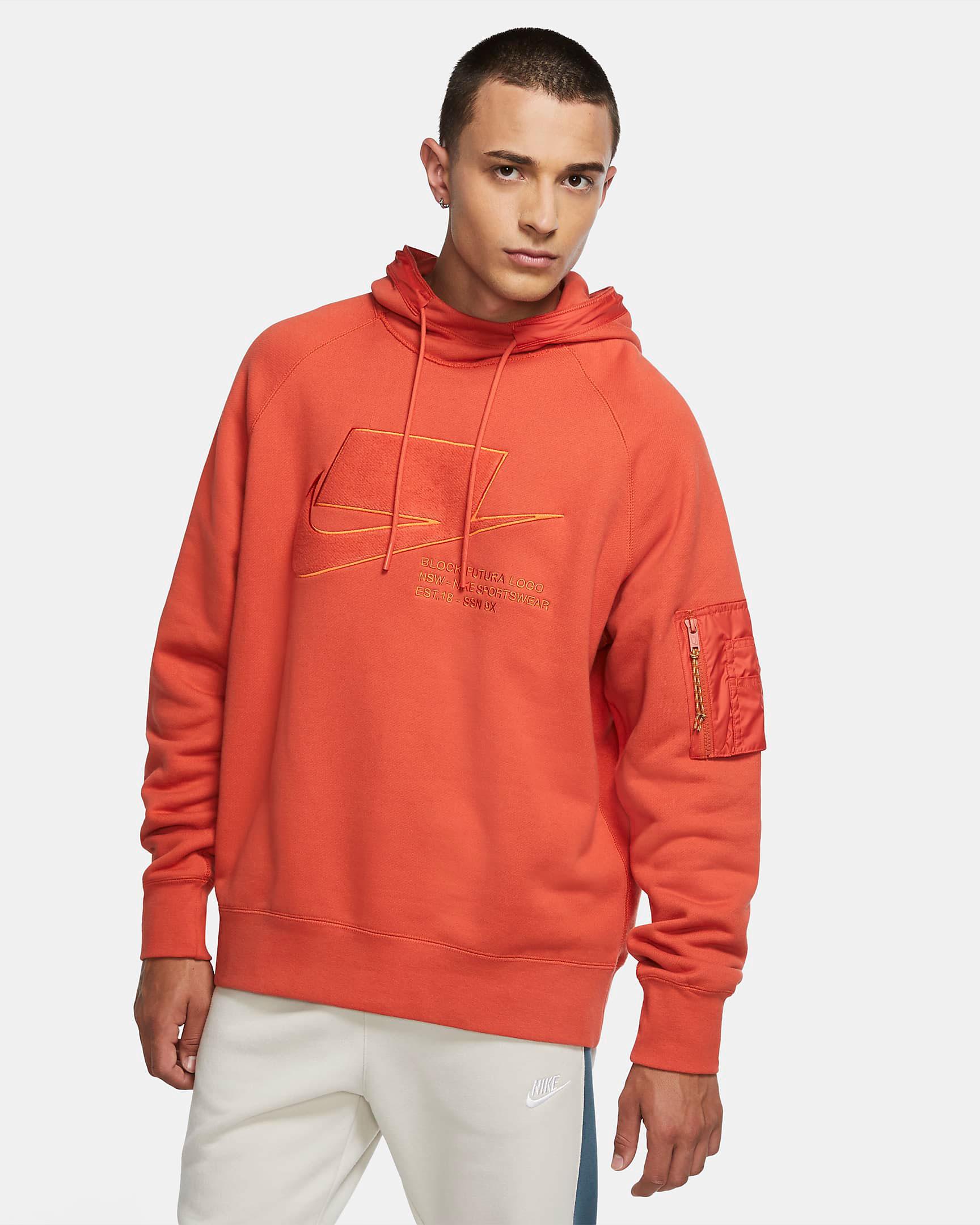 nike-air-force-1-craft-mantra-orange-hoodie