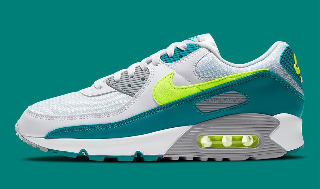 nike-air-max-3-90-hot-lime-sneaker-clothing-match