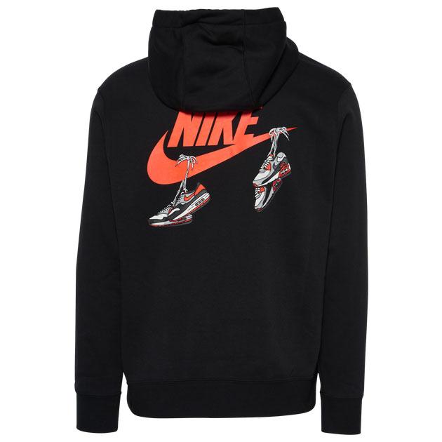 nike-air-max-90-infrared-radiant-red-hoodie-black-2