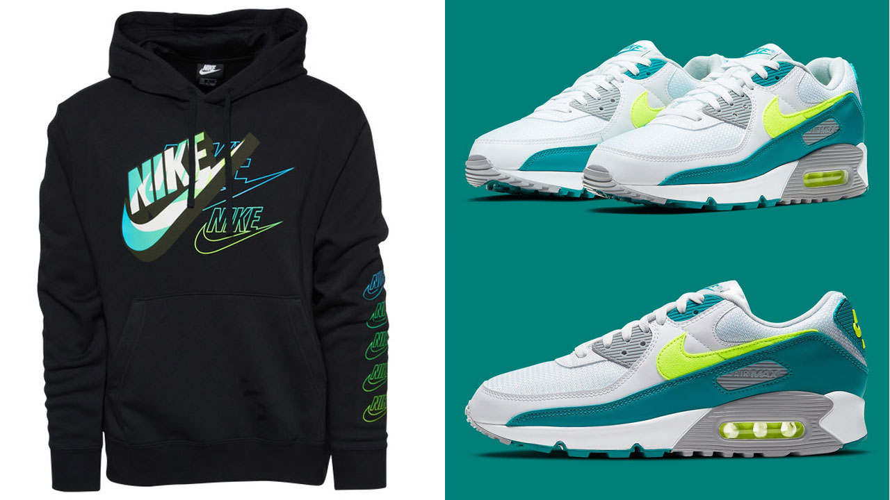 nike-air-max-90-spruce-lime-hoodie