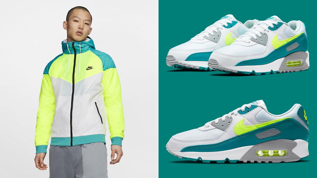 nike-air-max-90-spruce-lime-jacket