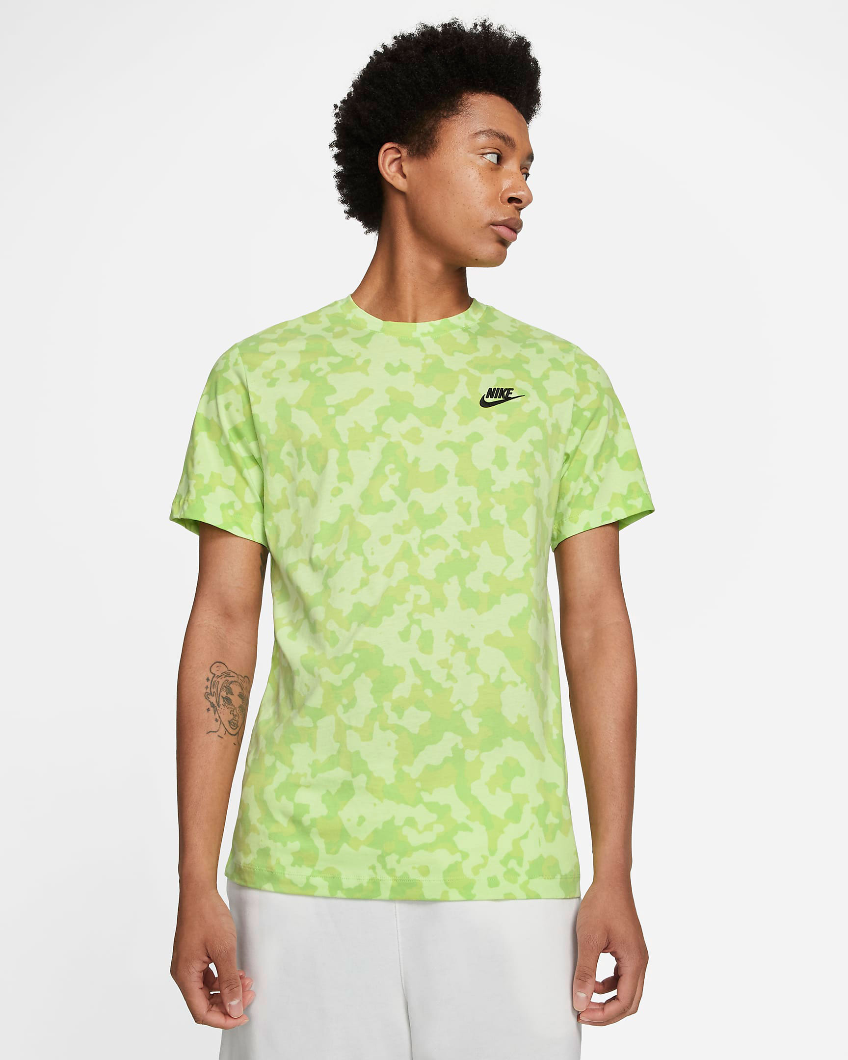 nike-light-liquid-lime-camo-tee