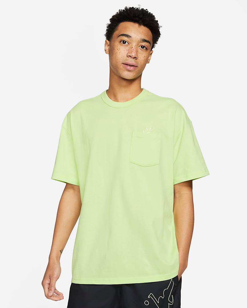 nike-liquid-lime-premium-pocket-tee-shirt-1