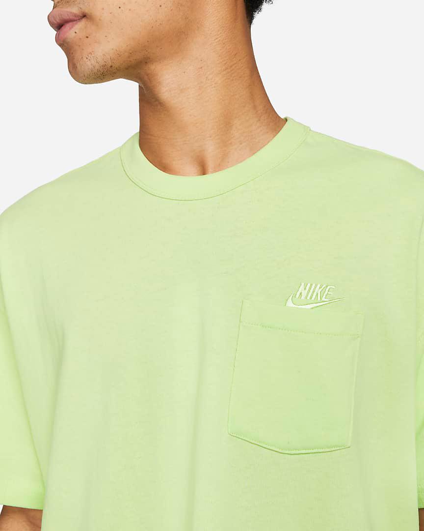 nike-liquid-lime-premium-pocket-tee-shirt-2