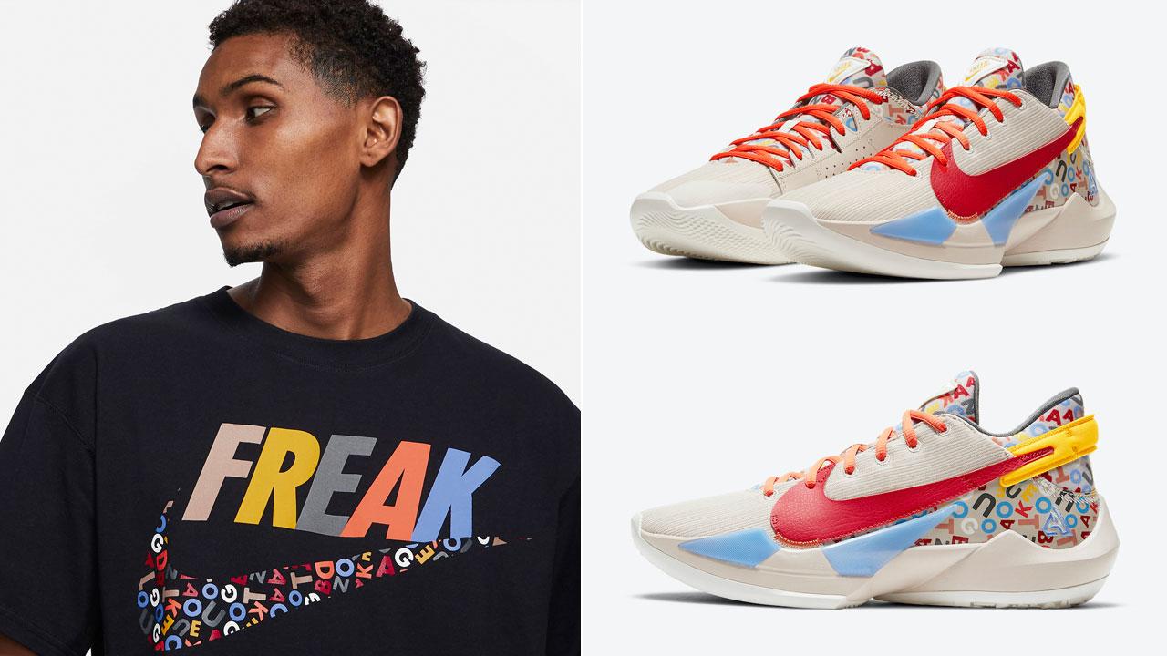 nike-zoom-freak-2-letter-bro-alphabet-shirt