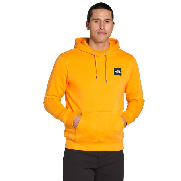 the-north-face-box-hoodie-yellow-gold-black-1