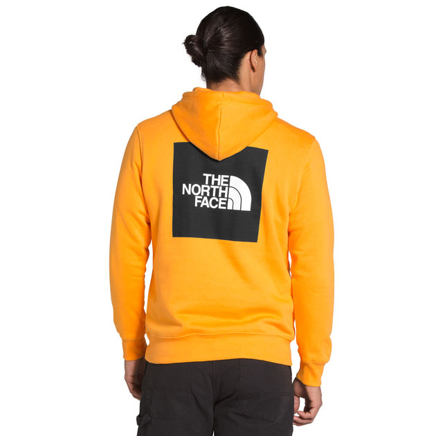 the-north-face-box-hoodie-yellow-gold-black-2