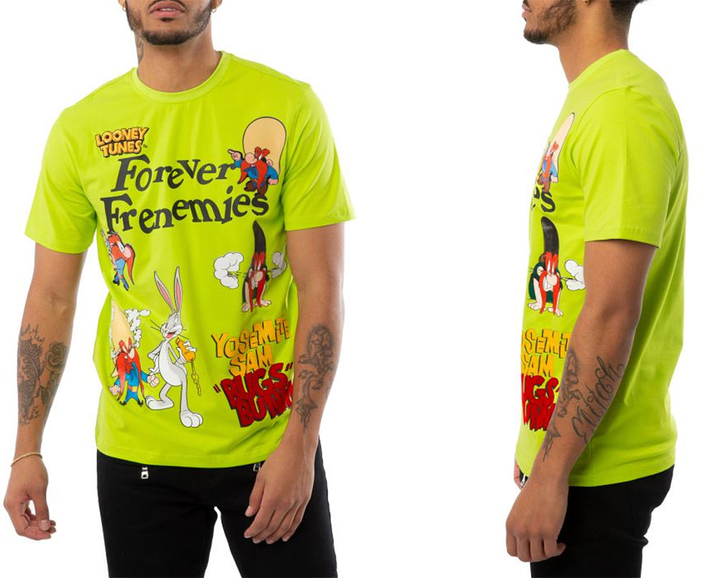 volt-foamposite-looney-tunes-shirt-match