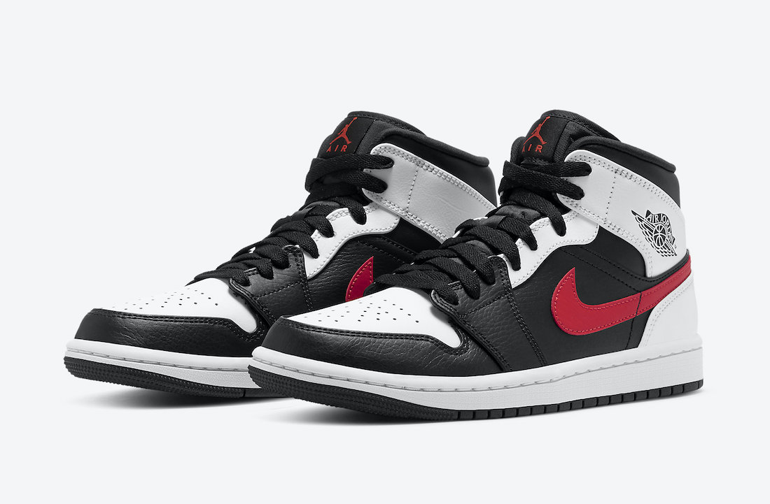 Air-Jordan-1-Mid-Black-Chile-Red-White-554724-075-Release-Date-4