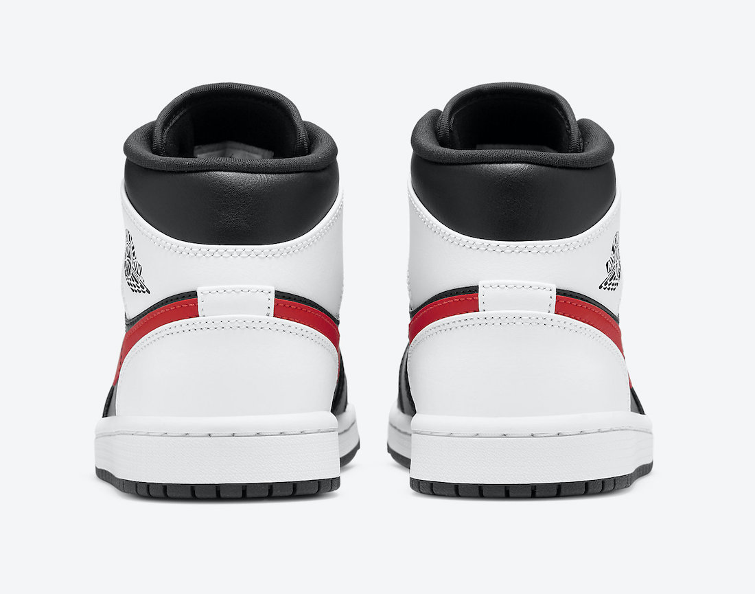 Air-Jordan-1-Mid-Black-Chile-Red-White-554724-075-Release-Date-5