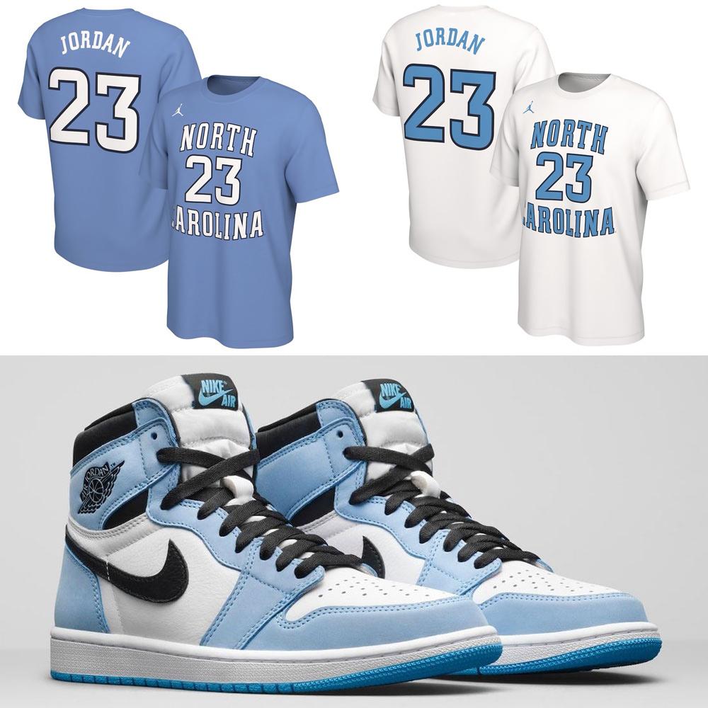 air-jordan-1-high-university-blue-michael-jordan-shirt
