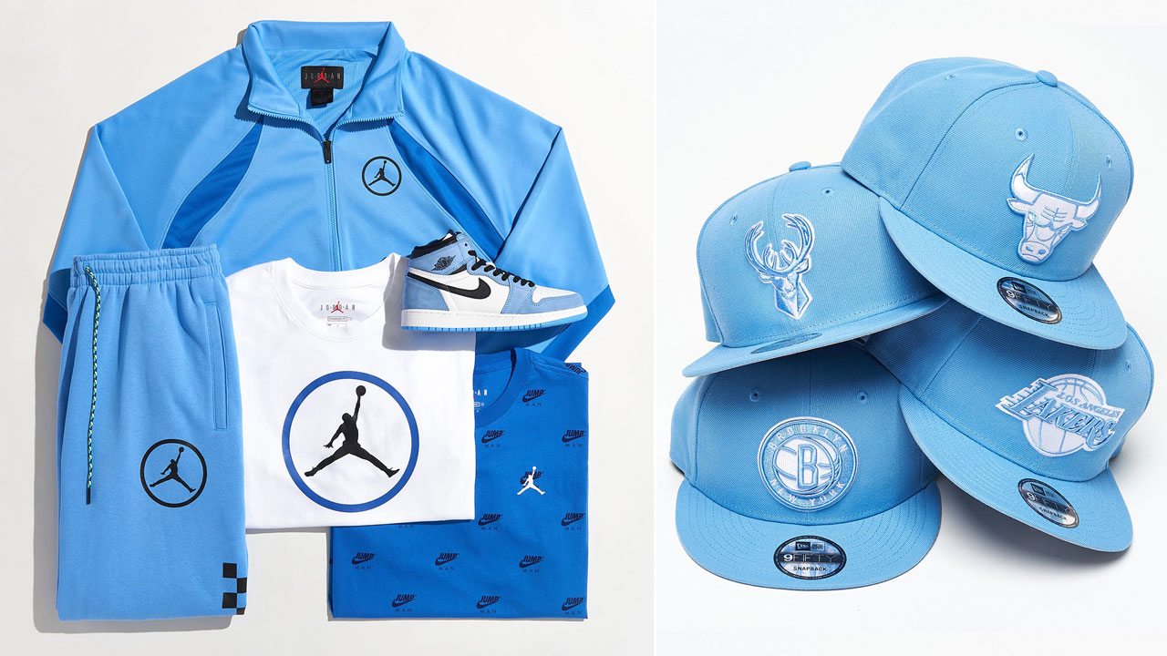 air-jordan-1-high-university-blue-shirts-hats-clothing-match