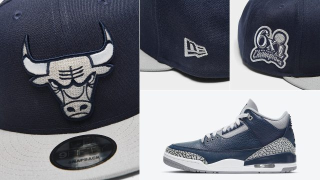 air-jordan-3-georgetown-midnight-navy-bulls-new-era-snapback-cap