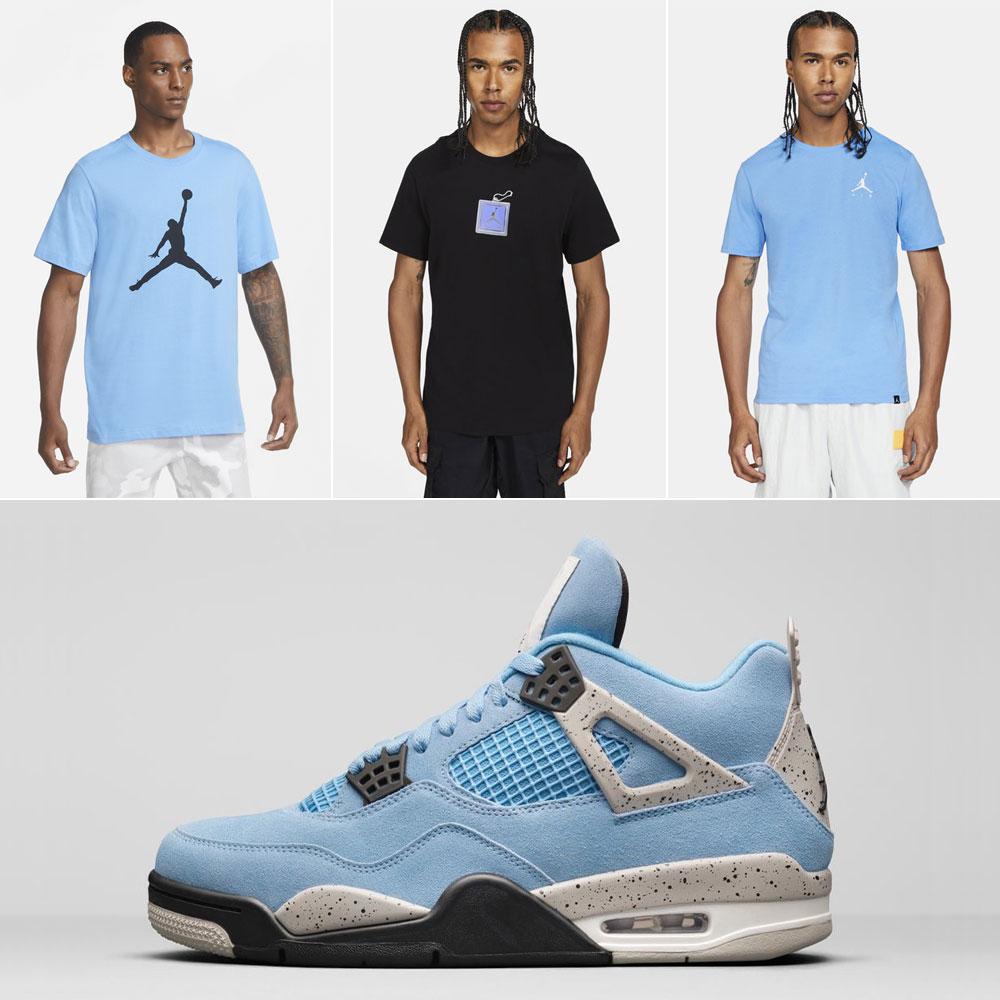 air-jordan-4-university-blue-shirts