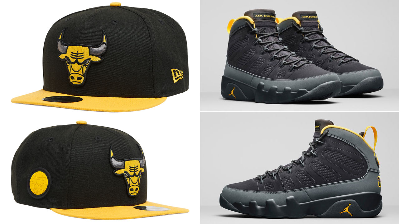 air-jordan-9-university-gold-new-era-bulls-hat