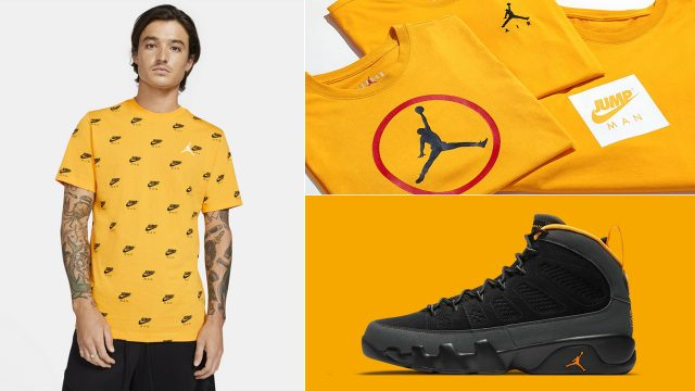 air-jordan-9-university-gold-t-shirts