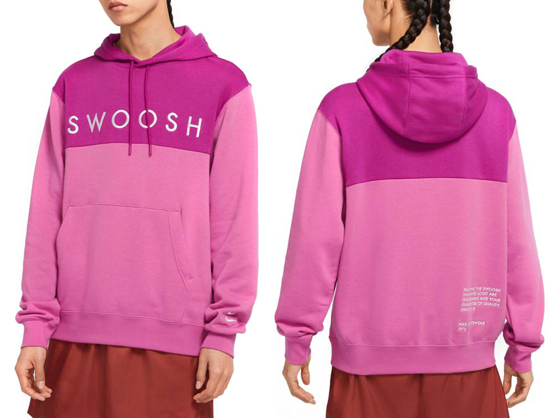 ambush-nike-dunk-high-cosmic-fuchsia-hoodie