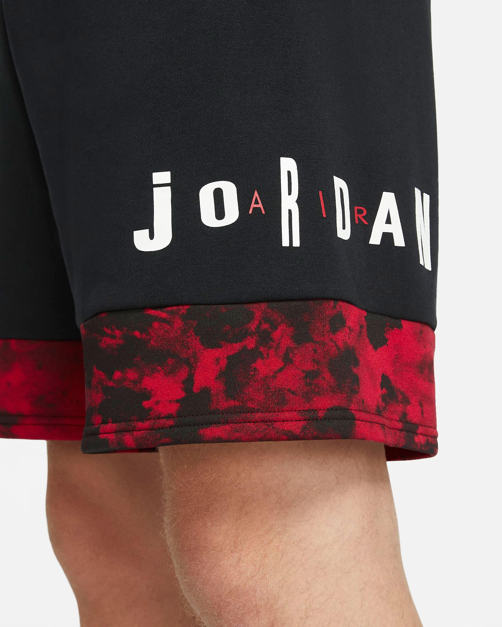 carmine-air-jordan-6-2021-shorts-5