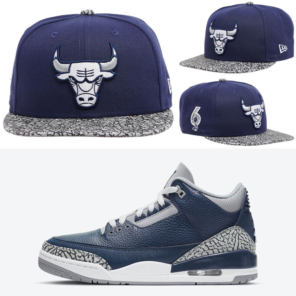 jordan-3-midnight-navy-georgetown-bulls-hat