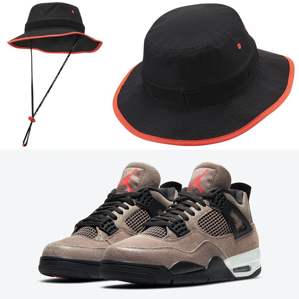 jordan-4-taupe-haze-hat-match