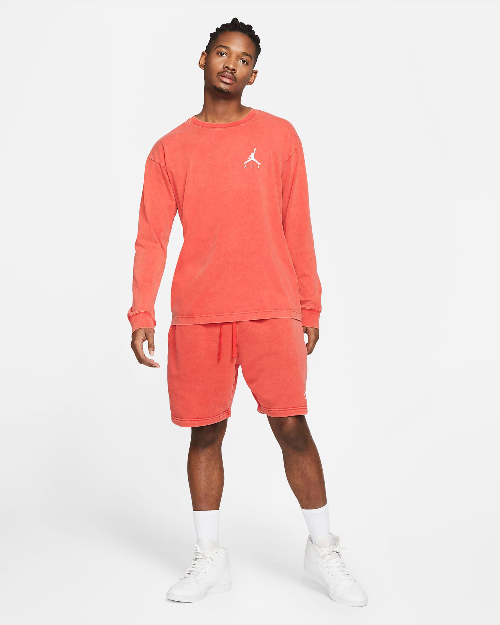 jordan-4-taupe-haze-infrared-shirt-shorts-match