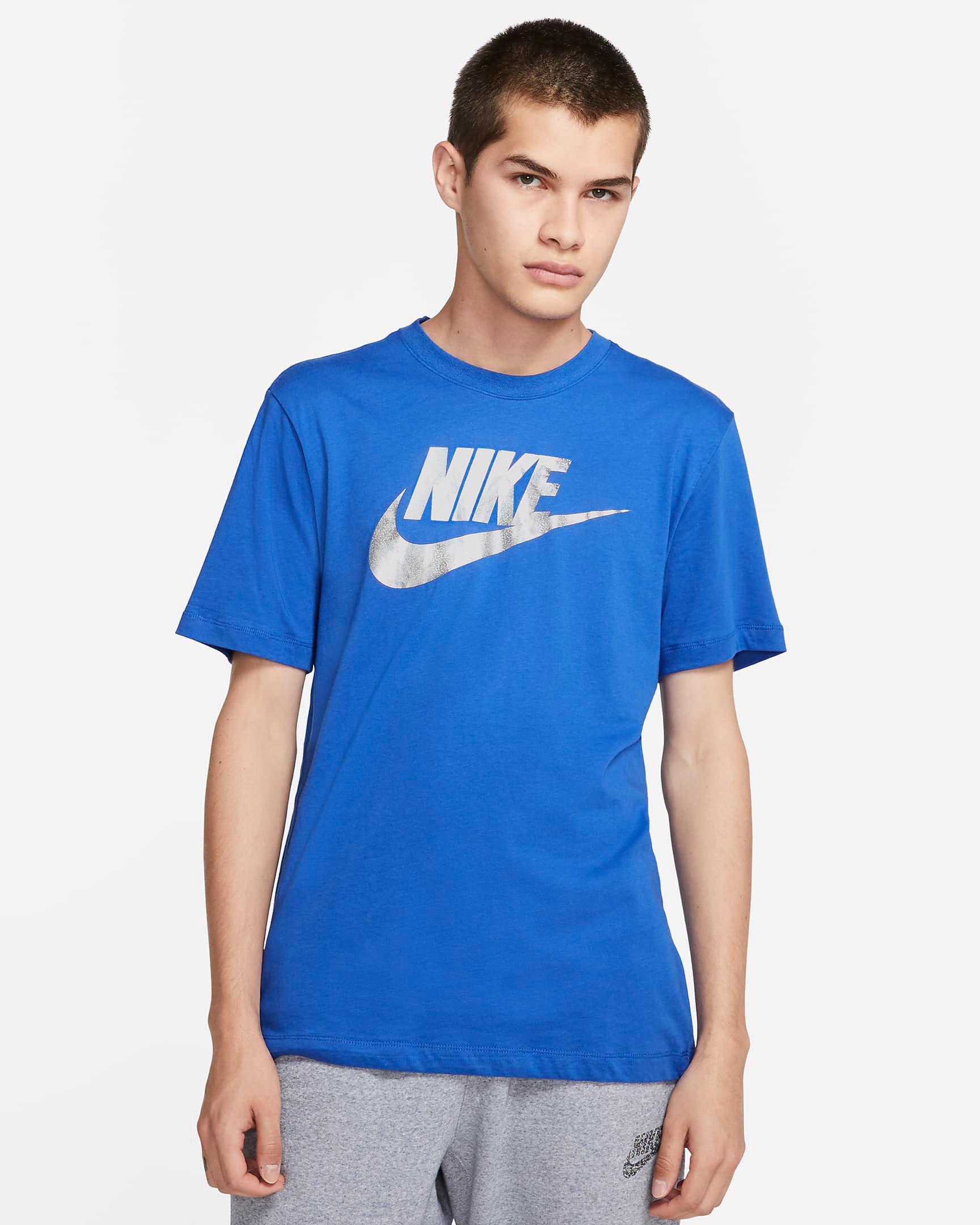 jordan-5-stealth-hyper-royal-nike-shirt