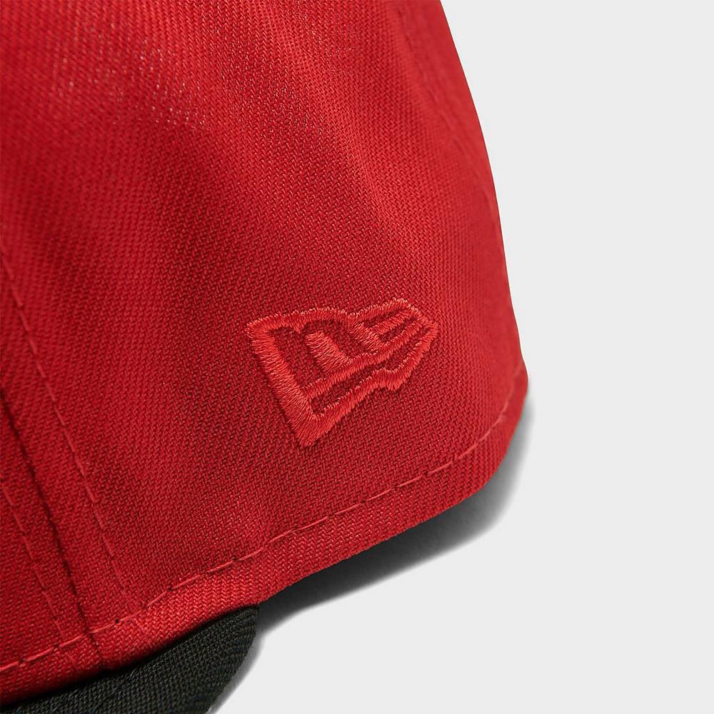 jordan-6-carmine-new-era-new-york-yankees-mets-red-black-snapback-hat-3