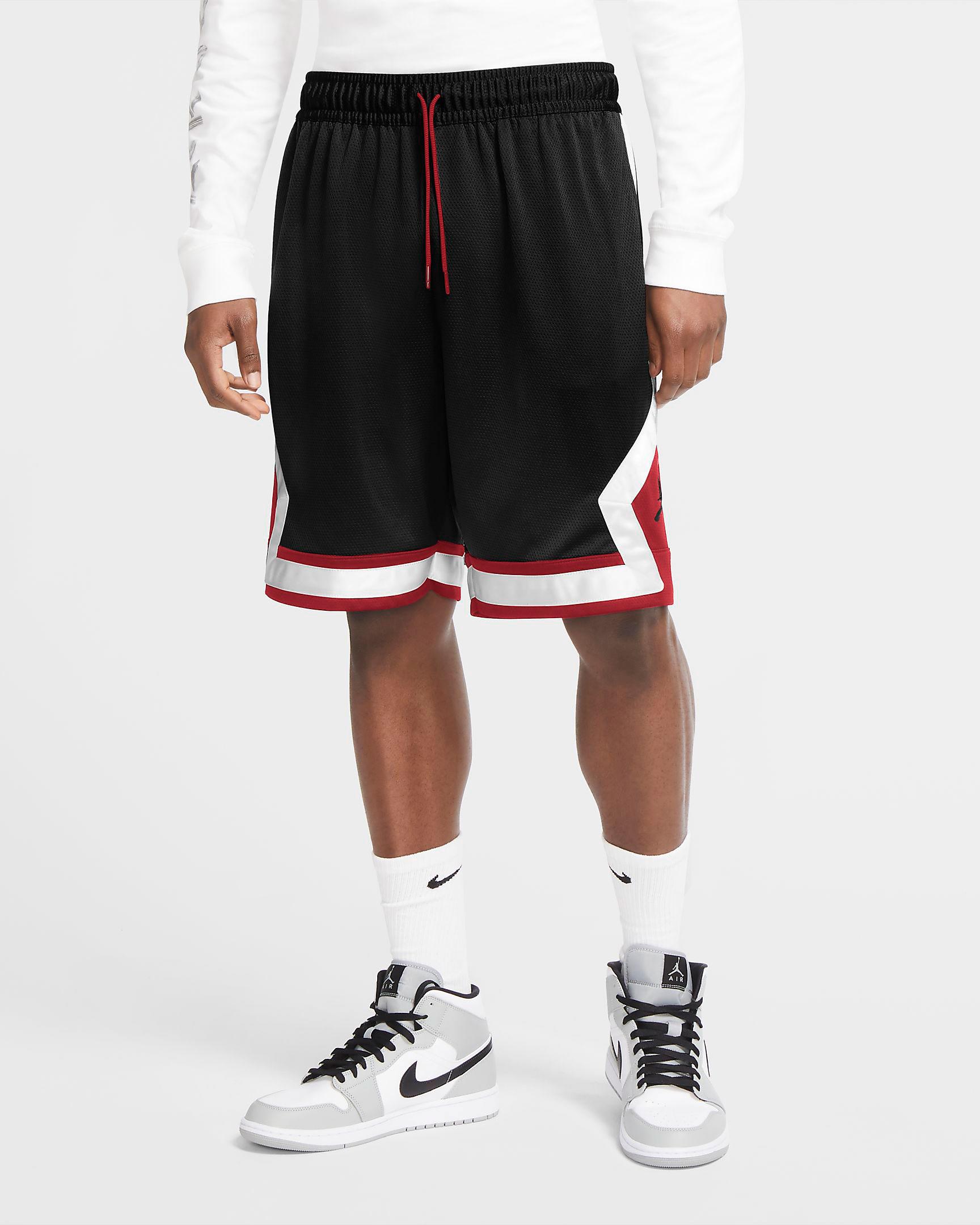 jordan-jumpman-diamond-shorts-black-gym-red-white-1
