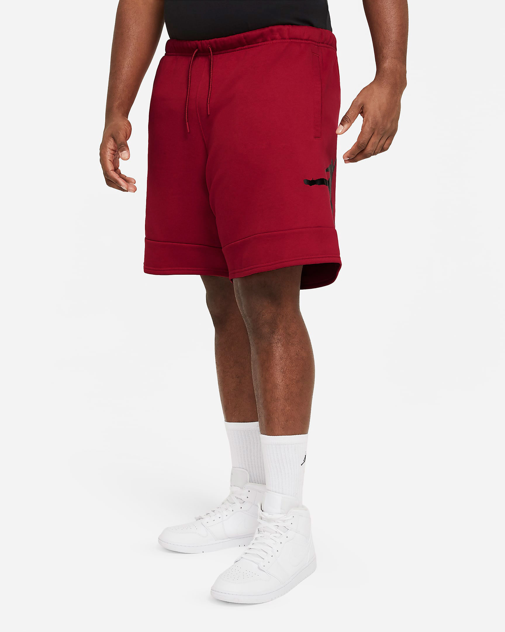 jordan-jumpman-fleece-shorts-gym-red-black-2