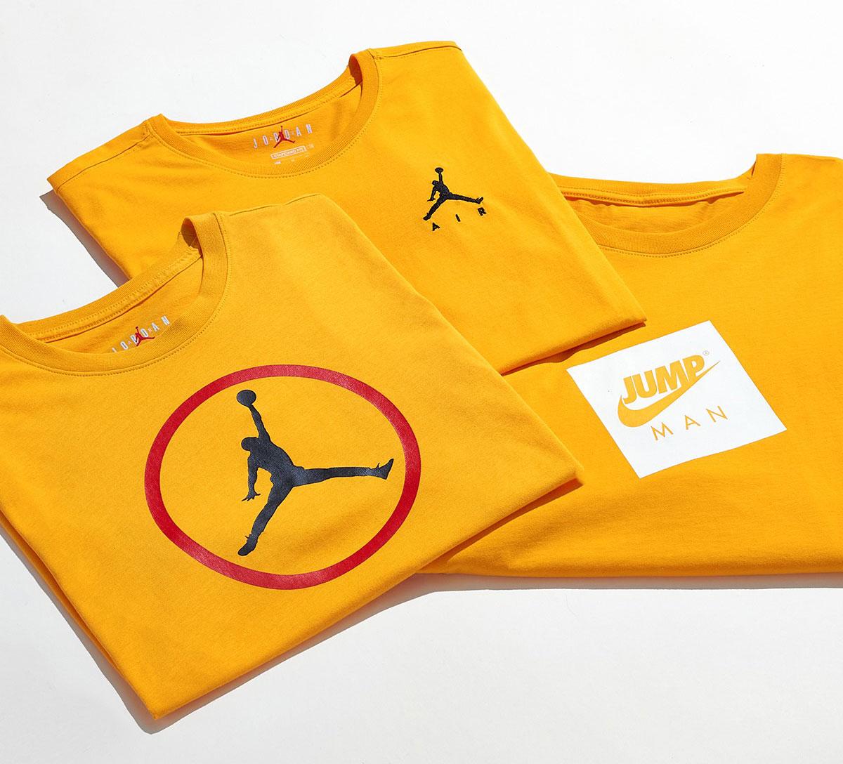 jordan-university-gold-shirts